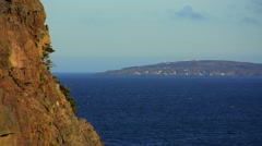 Newfoundland Ocean, terrain and natural design Stock Footage