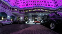 Peninsula Hotel  Hong Kong Tsim Sha Shui Stock Footage
