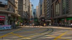 Tramway HKG TsuenWan  Stock Footage