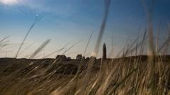 Lighthouse Texel Vuurtoren - stock footage