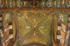 Basilica of San Vitale - stock photo