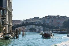 Ponte dell'Accademia in Venice - stock photo