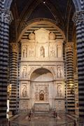 Piccolomini Altar - stock photo