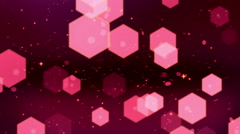 Pink Glitters Loopable Background Stock Footage