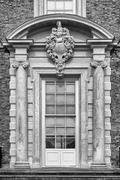Artistic doorway, Beningbrough Hall - stock photo