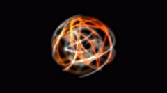 Energy sphere, energy orb, energy ball animation. Stock Footage