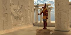 Stock Illustration of Egyptian God Seth