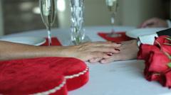 Valentine's Day romance - stock footage