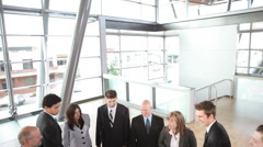 Business teamwork Stock Footage
