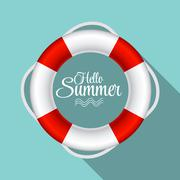 Stock Illustration of Lifebuoy Sign Symbol Vector Illustration EPS10