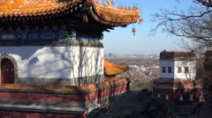 Four Great Regions (Tibetan Style) Temple in the Summer Palace. Beijing, China - stock footage