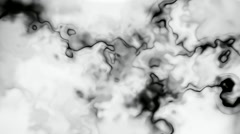 Slow drifting ink stains in water seamless loop - stock footage