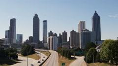 Atlanta Skyline  Stock Footage