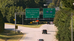 The Way To Chattanooga Stock Footage