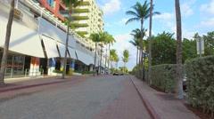 Hilton Bentley Miami Beach stock video Stock Footage