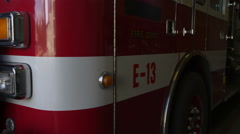 Portrait of firefighters Stock Footage