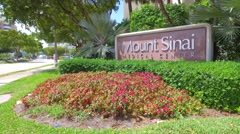 Mount Sinai Medical Center - stock footage