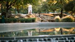 Centennial Park Pose - stock footage