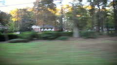 Passing Rural South Stock Footage