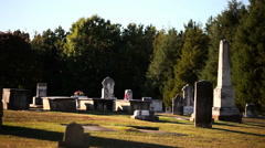 Southern Graveyard Stock Footage