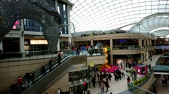People Shopping At Trinity Leeds ,UK - stock footage