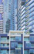 New apartment buildings - stock photo