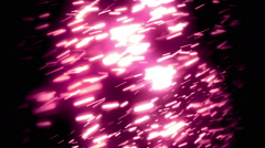 Purple Soft Particles Loopable Background Stock Footage