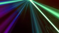 Dark VJ Lights Loopable Background  - stock footage