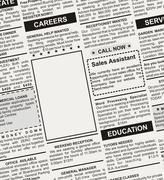 Career Ad - stock illustration