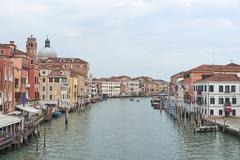 Landscape of Grand canal Stock Photos