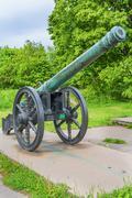 18th century cannon Stock Photos
