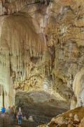 New Athos Cave interior - stock photo
