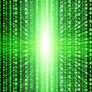 Green binary code Kuvituskuvat