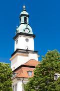 town hall of Jelenia Gora, Silesia, Poland - stock photo