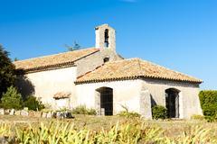 chapel Saint Jean, Régusse, Provence, France - stock photo
