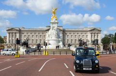 Buckingham Palace in London - stock photo