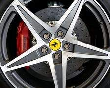 Ferrar alloy detail Stock Photos