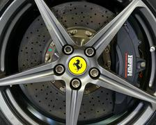 Ferrar alloy detail - stock photo