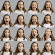 My several diferent moods Stock Photos