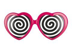 Hypnotized by love - stock photo