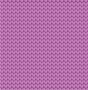Seamless vector knitting pattern Stock Illustration