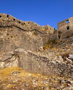 fortress of St. Ivan Montenegro - stock photo