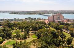 Bamako in Mali - stock photo