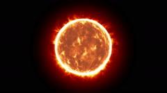 SUN DISTANT FX - stock footage