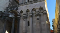 Diocletians Palace , Split, Croatia, Stock Footage