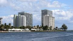Buildings of Fort Lauderdale Stock Footage