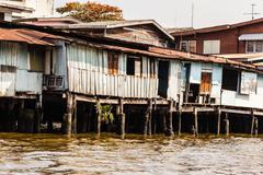 Wooden slum Stock Photos