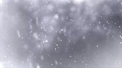 Strong Snowfall. Stock Footage