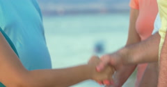 Group of People Shaking Hands - stock footage