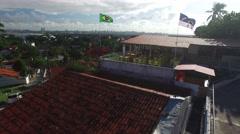 Olinda city in Pernambuco, Brazil Stock Footage
